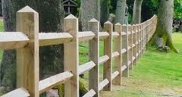 Timber Post Rail